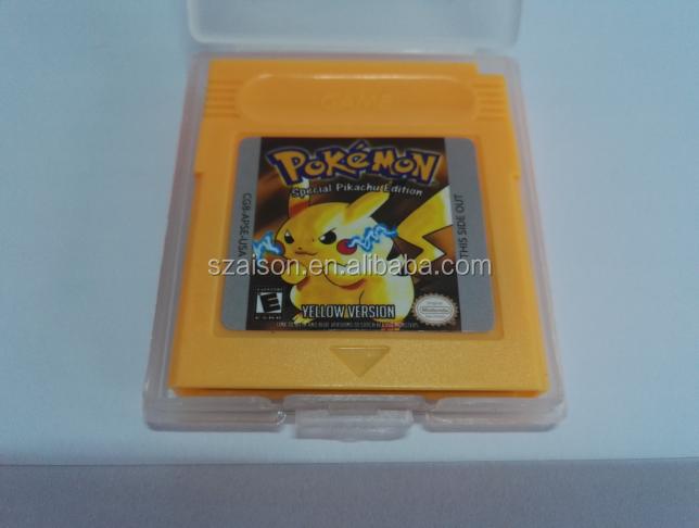 Factory Price for GBC Pokemon Games pokemon red,pokemon blue,pokemon green,pokemon yellow фото