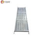 Aluminum scaffold metal board scaffold plank with hooks