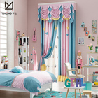 Curtains Curtains For Curtains Low Price Good Quality Pink Polyester Lovely Printed Cartoon Bed Curtains For Girls Bedroom