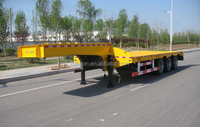 Dimensions Customized low bed semi trailer truck for 40 tons duty