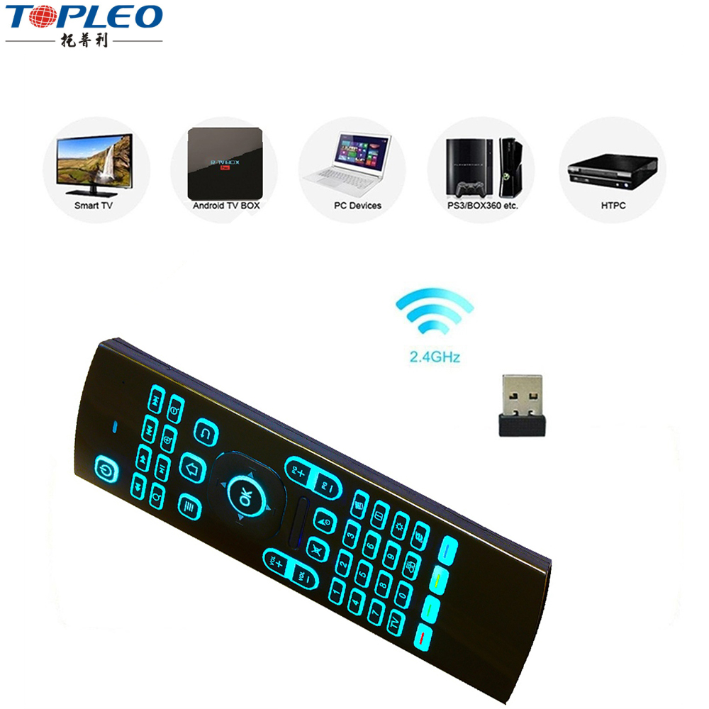 Moon box tv box firmware update mx3 airmouse for android tv box