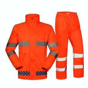 OEM Services Hi-Vis Reflective Tape Work Wear Safety Uniform China Supplier Factory Fashion Design