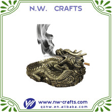 Vivid resin dragon sharp Ashtray