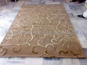 hot sale 3d handtufted nice design carpet with lowest price USD25