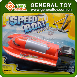 Kids Plastic Cheap Electric Battery Power Boat Toy