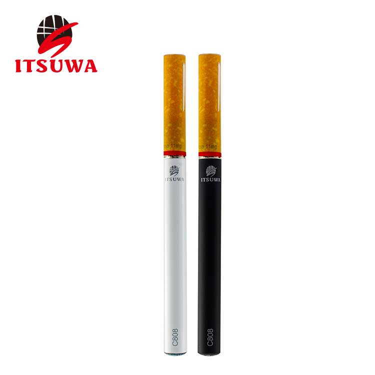 2017 new tank vape pen empty cartridge C808 disposable ecigarette C808 tank one time use vaporizer E pen