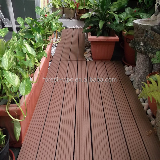 Outdoor Patio Decking Floor Pvc Boat
