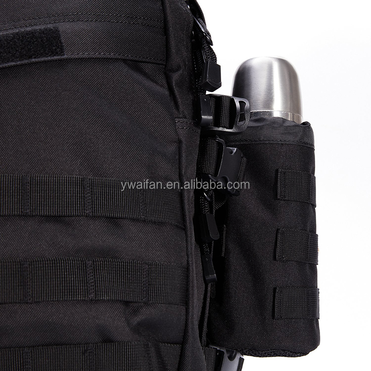 Water Bottles Pouch Bag Tactical Drawstring Molle Water Bottle Holder Travel Mesh Water Bottle Bag Hydration Carrier