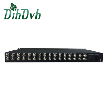 Digital Cable TV Headend 16 Tuner DVB-S2 IRD for FTA channel