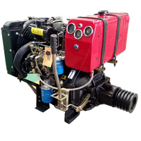 china 20 hp 2100d 2 cylinder diesel engine marine type price