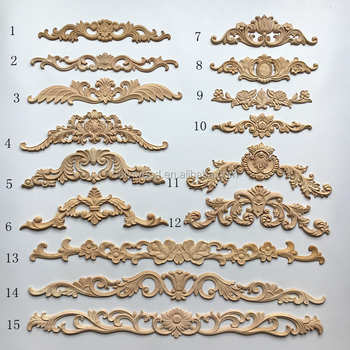 Wooden Furniture Embellishments Carved Antique Liques