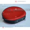 Portable Red CD Storage Hard Case/ Lightweight CD case/Tool case