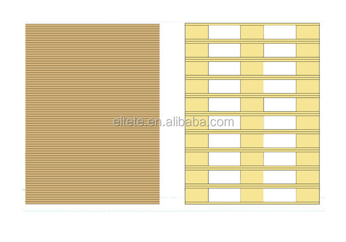 2016 new design shipping solution paper brown kraft paper cargo pallet sheet with cheap price
