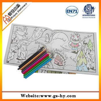 Exercise Book Manufacturers Custom Coloring Book Printing With ...