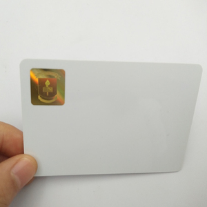 Custom printing pvc id card with hologram overlay