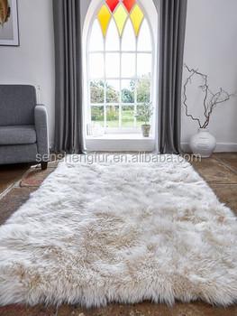 Soft And Fluffy Fur Floor Mats Rug Mat