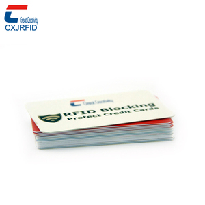 rfid blocking card in wallet security protection rfid card blocker