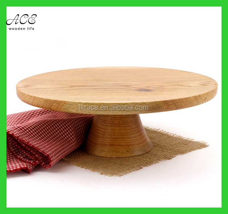 High quality painted FDA grade wooden cake stand