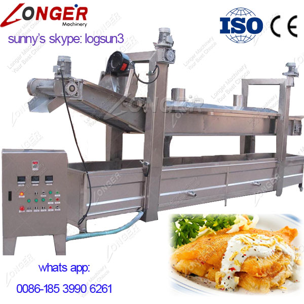 Electric Gari Groundnut Chips Frying Machine