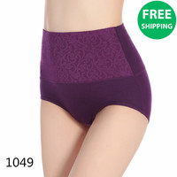Free shipping Luxury organic cotton pregnant women underwear egyptian underwear