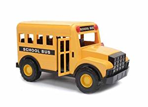 Mighty Wheels Heavy Steel and Plastic School Bus