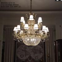 Top level energy saving crystal rainbow chandelier