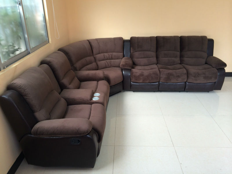 5 seater leather sofa sofa fascinating 3 seater bed for Sofa set designs for hall