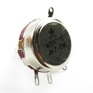 WTH118-1A Mirco Potentiometer WTH118 4.7K 2W 6MM Carbon Potentiometer Long Shaft Rotary Potentiometer Original and new