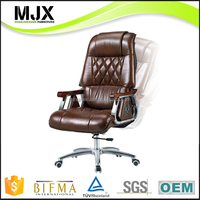 classic heavy duty leather executive chair big and tall chair for boss