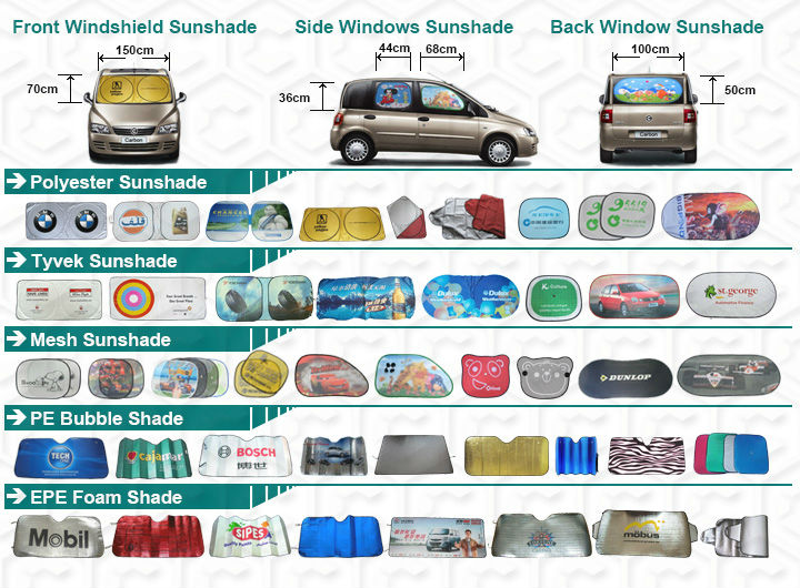 Cute Printing Custom Design Sun Shade For Car Windscreen - Buy Sun ... b34b18b6aab
