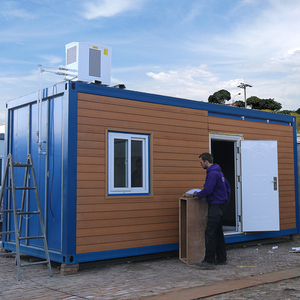Beautiful and ISO9001:2008 Certificated 20ft Container Living House