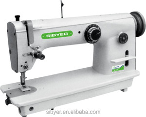 good price zigzag industrial sewing machine for thick material sewing