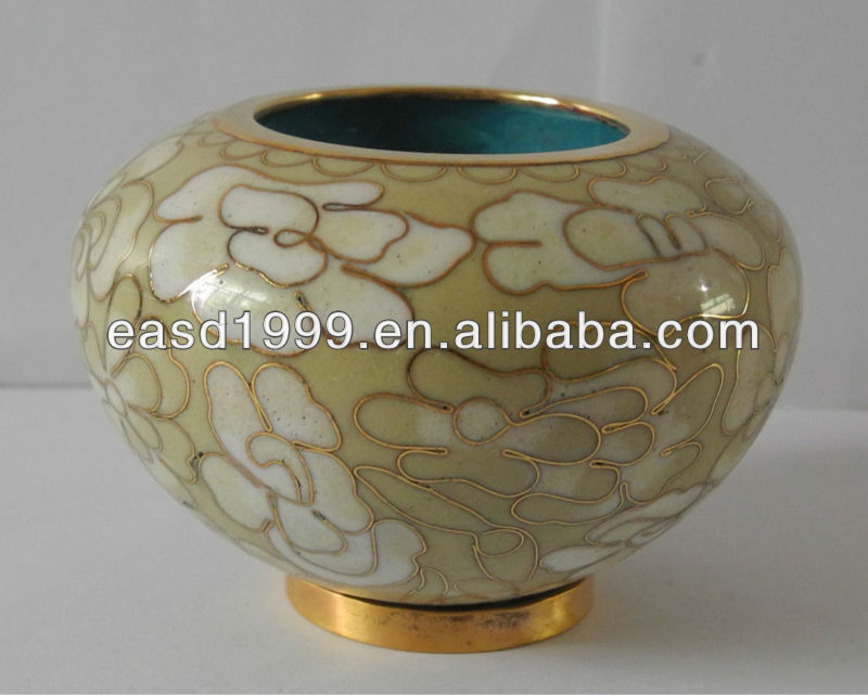 Cloisonne Candle Keepsake Urns Memory Light Opal(Item No.P187C)
