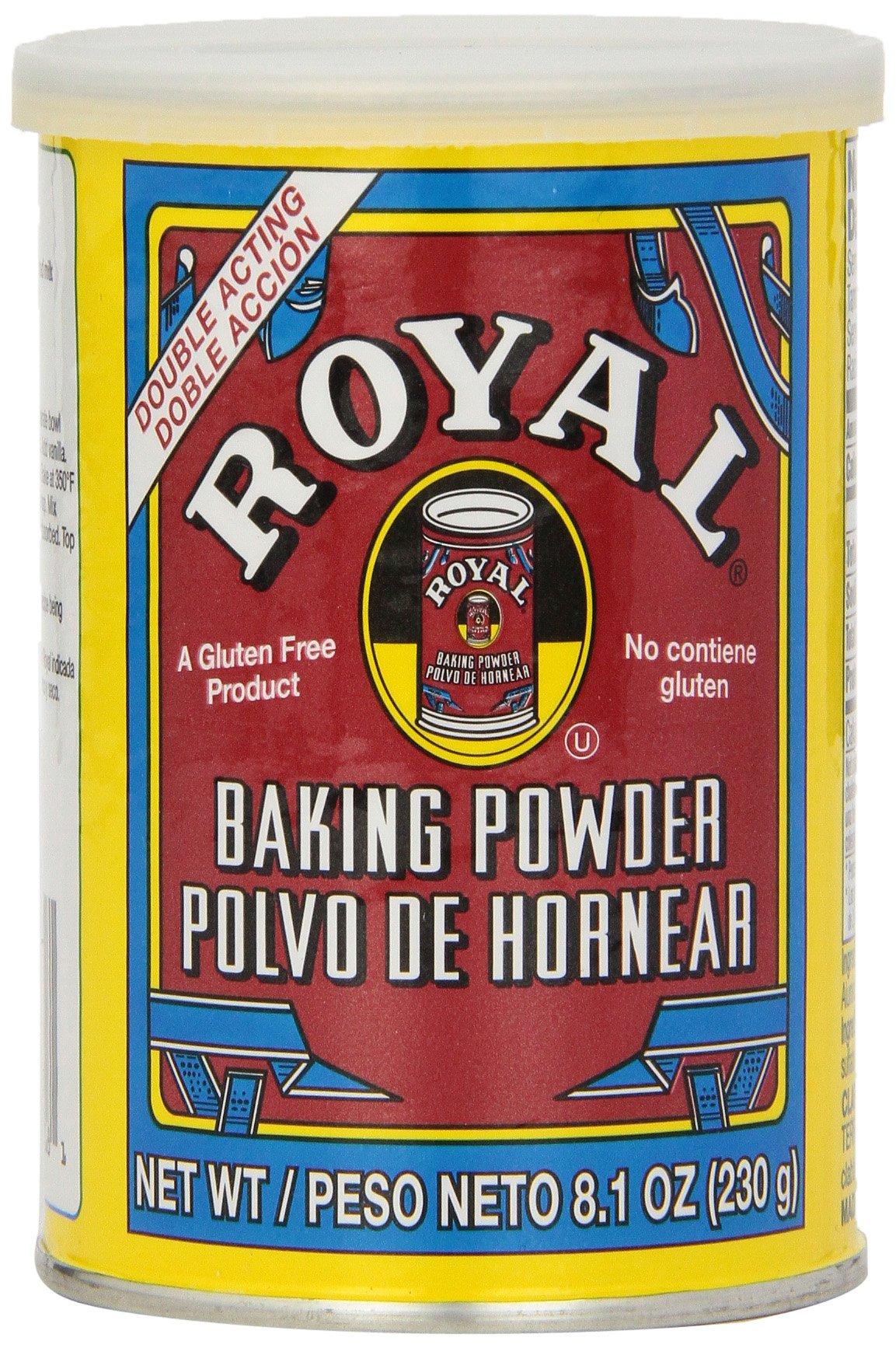 Royal Baking Powder, 8.1-Ounce (Pack of 6)