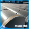 big size HDPE Coating N-v g=2.7mm 16MN SSAW steel tube with plain ends