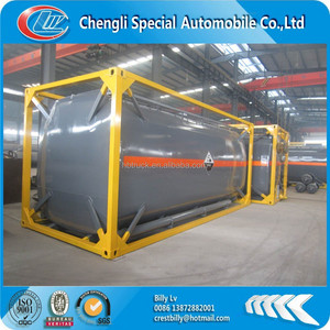 Chengli special Automobile produce new 20 feet/40 feet ISO steel fuel tank container