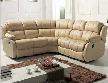 Yr1061c Hot Selling Classic Leather Recliner Sectional Round Corner Sofa -  Buy Round Corner Sectional Sofa,Leather Corner Sofa,Recliner Corner Sofa ...