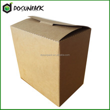 Superior kraft paper and high quality recyclable carrier cardboard box