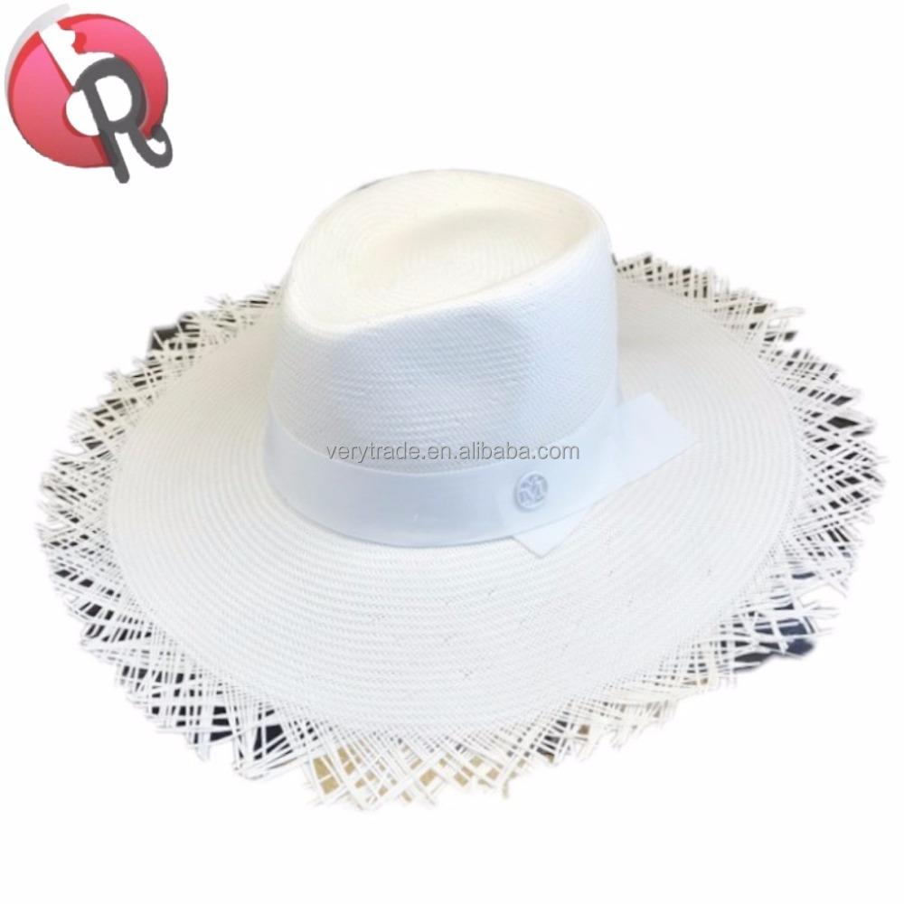 5f8f50af8 Fashion Casual White Japanese Straw Women Summer Hats Big Wide Brim Beach  Hat Uv Sun Protection - Buy Wide Brim Straw Hats,Women Sun Hats,Women  Summer ...