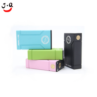 OEM rapid prototype aluminium boxes/E-cigarette spare parts make colorful anodized and print LOGO/High demand aluminium
