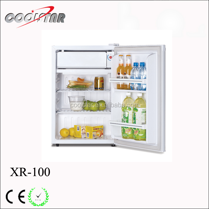 Double Foam Door Mini Fridge Of Two Department With Auto