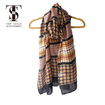 China wholesale high quality custom knitted silk printed wool scarf