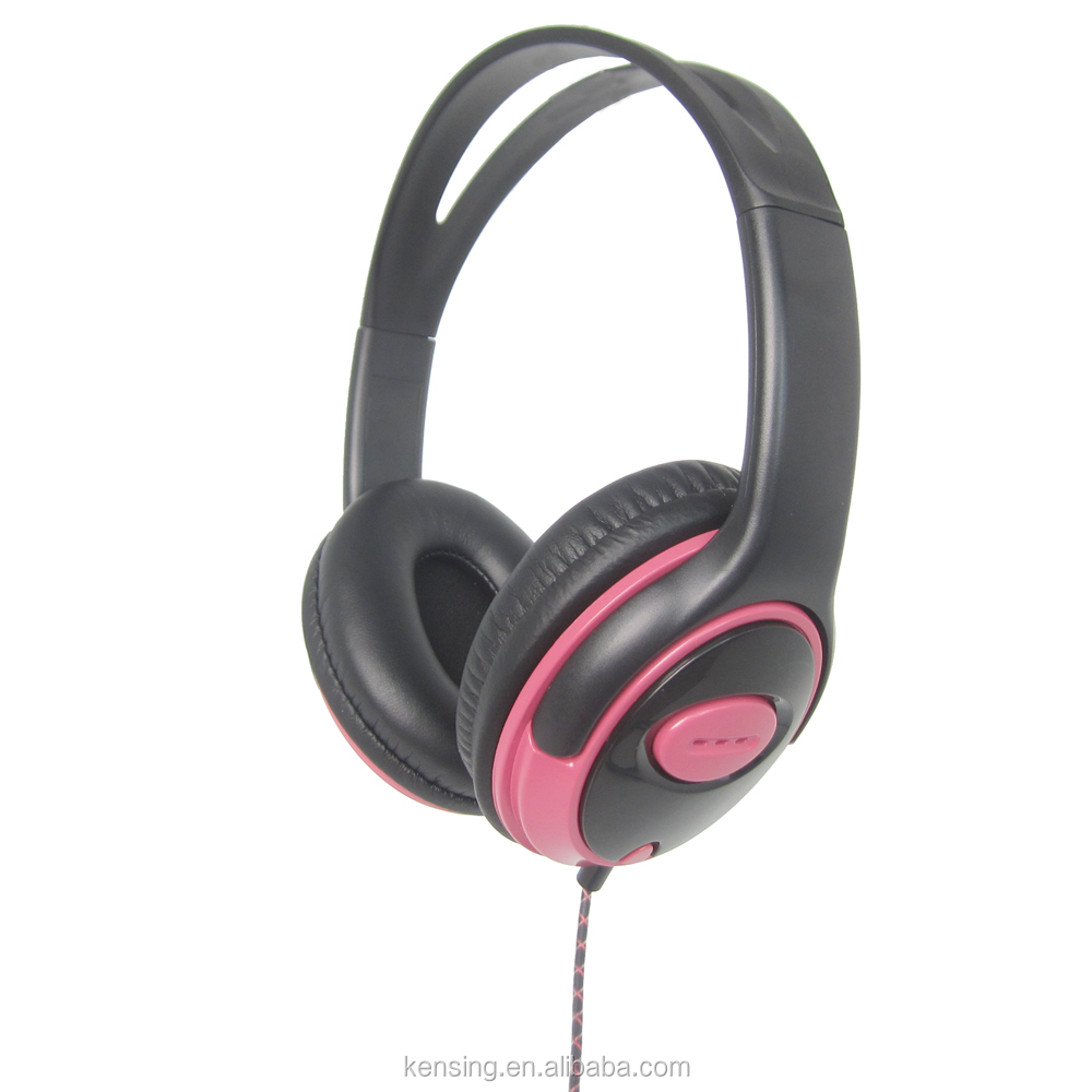 music DJ headset with customized logo