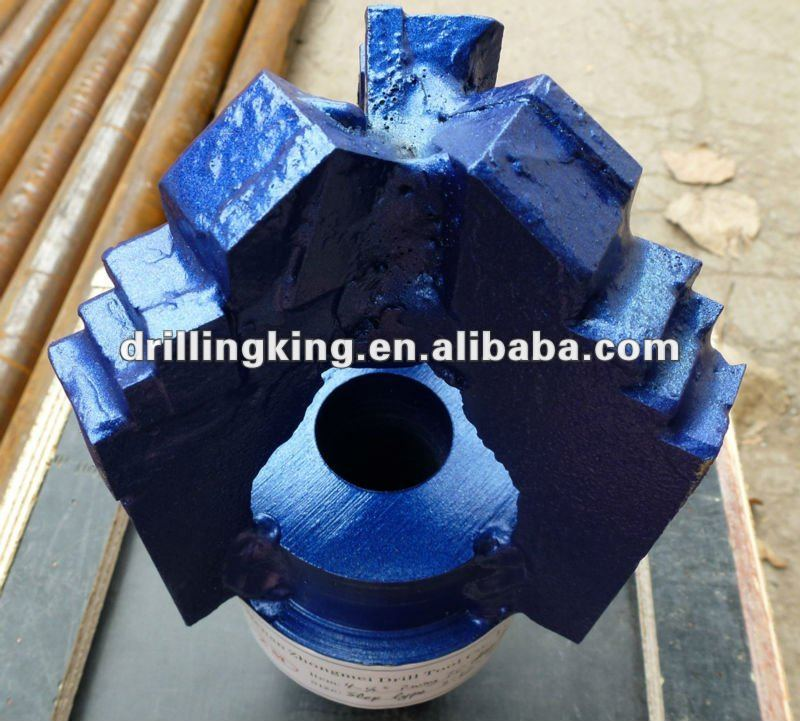 Carbide Insert Step Drag Bit For Water Well Drilling