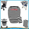 stretchy multi-use baby car seat canopy nursing cover shopping cart cover infant car seat cover