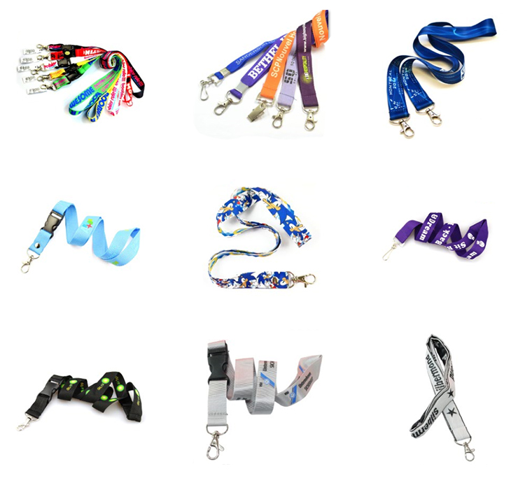 Wholesale Promotional Polyester Lanyard Mobile Cell Phone Straps