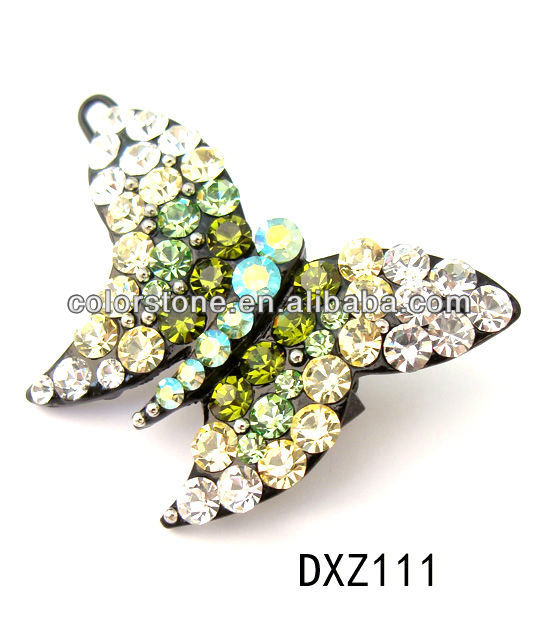 Safety pin brooch with rhinestone ,brooch in bulk,fancy brooch pin with stone