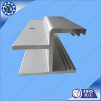 Oem 7075 aluminum extrusion profile with anode for led light