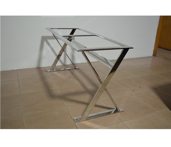 Stainless Steel Dining Table Frame Well Designed Durable Fashion Metal Base