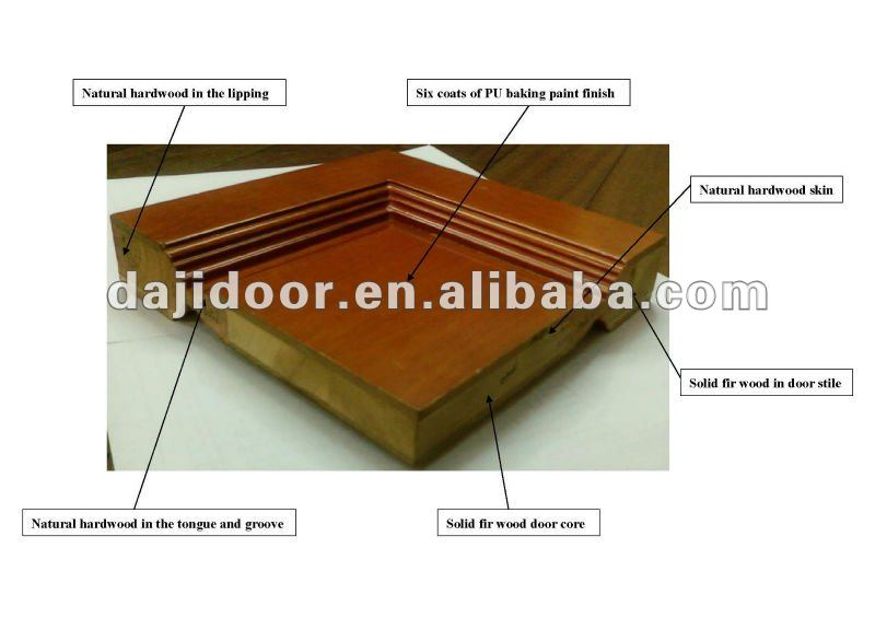 Full Lite Glass Teak Wood Main Door Designs With Arch Transom DJ-S9021STHR